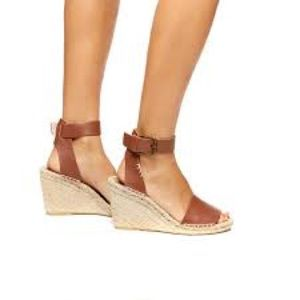 261de8ac1cc9 Soludos Shoes - Soludos Open-Toe Leather Espadrille Wedge
